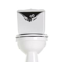 DekorLoft Banyo Tuvalet Sticker Wc02