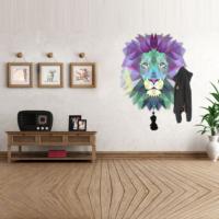 Ejoya Rengarenk Aslan Askılık Duvar Sticker