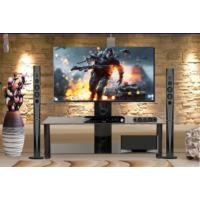 Silvercrest Tv Sehpası Cam 120Cm Sıyah Lcd Sc-13