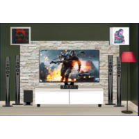 Sılver Crest Sc-080 120Cm Beyaz Ahsap Tv Sehpası