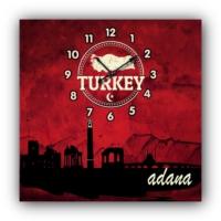 ArtredGallery Adana Kanvas Tablo Saat