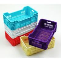 Pratik Mini Plastik Kasa Sepet 4lü