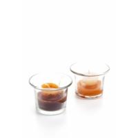 Decotown Kahve Fincanı Mum 2li Cam Mumluk