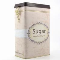 Decotown Sugar Metal Kutu