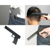 Pratik Silah Şeklinde Tarak Gun Comb