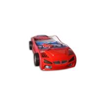 Mobika Arabalı Yatak - 3D Yavrusuz - Kırmızı