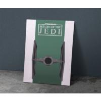 Javvuz Return The Jedi - Star Wars Metal Poster