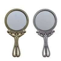 Tahtakale Toptancısı Ayna Yuvarlak Plastik Metalize Altın / Gümüş (25 Adet)