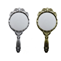 Tahtakale Toptancısı Gelin Aynası Plastik Metalize Altın/Gümüş (20 Adet)