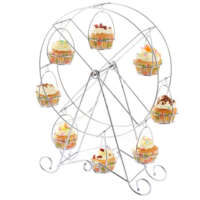Tahtakale Toptancısı Metal Cupcake Standı Dönme Dolap- Kek Standı