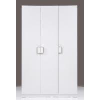 Kenyap Plus 812478 Stella Askılıklı&Raflı Üç Kapılı Sonsuz Gardırop-Parlak Beyaz