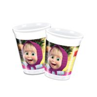 KullanAtMarket Maşa İle Koca Ayı Plastik Bardak 200Cc