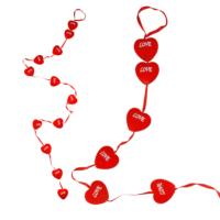 KullanAtMarket Dizili Love Kalpler Asma Süs 12'Li