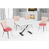 Azzore Mutfak Masası -Mutfak Masa Takımı -Beyaz Ahşap Masa Takımı