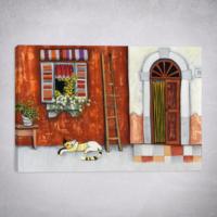 Eyibil Mobilya Modern Tek Parça Kanvas Tablo KzySltnSkn-093 50 x 35 cm