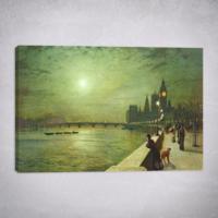 Eyibil Mobilya Modern Tek Parça Kanvas Tablo KzySltnSkn-105 50 x 35 cm