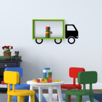 Decortie Truck Raf - Yeşil