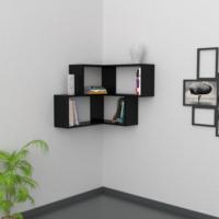 Decortie Corner Raf - Siyah