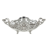 Çağ Deccor Gümüş Büyük Gondol 29x16 cm