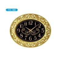 Galaxy 713-Vav Oymalı Ayetli Duvar Saati