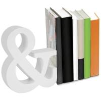 Nektar 24562 Kitap Tutucu Ahşap Beyaz