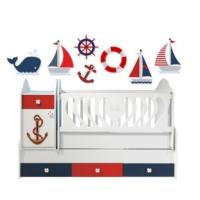 Decor Desing Decor Design Denizci Çocuk Odası Duvar Sticker Gur020