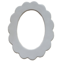 Oğuz Çini Bisküvi 28Cm Oval Ayna