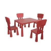 Modelsa Modüler 4 Sandelye + 1 Masa