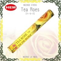 Hem Tea Rose Incense Sticks - Çay Gülü Çiçeği Tütsü 20 Adet