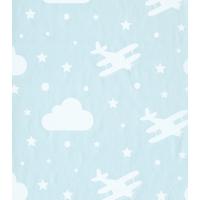 Bien 4870 Bulut Uçak Desen Duvar Kağıdı (5 M²)
