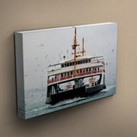 Eslim T181 İstanbul-Vapur Kanvas Tablo 35X50 Cm