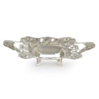 LoveQ Gümüş Kare Gondol 32 Cm