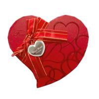 KullanAtMarket Altın Simli Kalp Kutu Büyük Boy