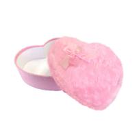 KullanAtMarket Peluş Kalp Kutu Pembe Orta Boy 23 Cm