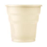 KullanAtMarket Krem Plastik Meşrubat Bardağı 10'Lu