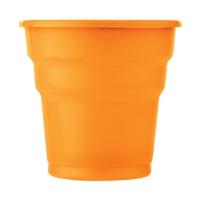 Kullanatmarket Turuncu Plastik Meşrubat Bardağı 10'Lu