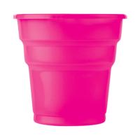 KullanAtMarket Şeker Pembe Plastik Meşrubat Bardağı 10'Lu