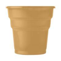 KullanAtMarket Altın Plastik Meşrubat Bardağı 10'Lu