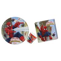 Alins Spiderman Süper Parti Seti 24 Kişilik
