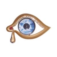 Antartidee Göz Tasarımlı Duvar Saati / Soft Eye Clock