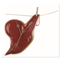 Antartidee Mandalda Asılı Kalpli Duvar Saati / Hanging Heart