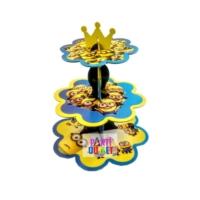 Partioutlet Minions Çift Yönlü Kek Standı
