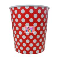 Partioutlet Popcorn Kırmızı Karton Kova - Küçük