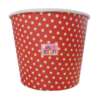 Partioutlet Popcorn Kırmızı Karton Kova - Büyük