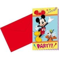 Partioutlet Mıckey Mouse Davetiye Kartı