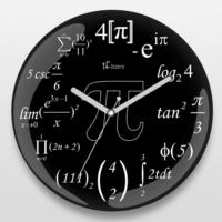 İf Dizayn İf Dizayn İleri Matematik Duvar Saati Yeşil