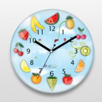 İf Dizayn Meyveli Tasarım Mutfak Duvar Saati