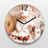İf Dizayn Minik Aşçı Mutfak Duvar Saati
