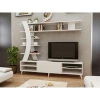 Endizayn İstanbul Tv Ünitesi Beyaz
