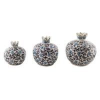Quartz Ceramics El Yapımı Seramik Nar Seti